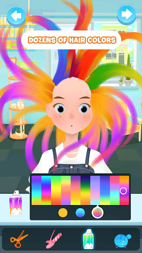 Hair salon games screenshot 1