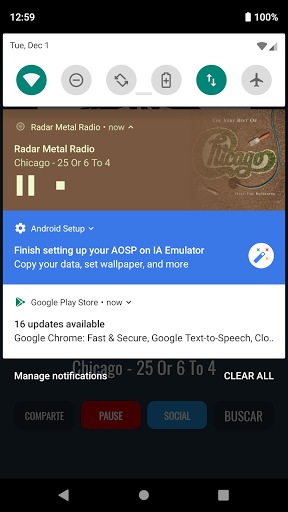 Radar Metal Radio screenshot 2