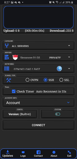 CuteVPN 3in1 GTM+ screenshot 1