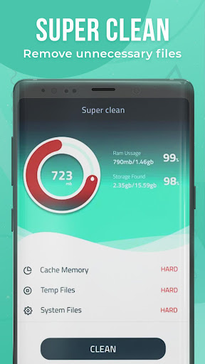 Cleaner Booster-Clear cache & memory, junk cleaner screenshot 2