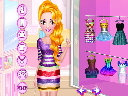 Candy Girl Salon Makeover - Candy Cooking Game screenshot 10