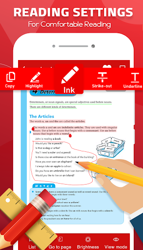 PDF Reader for Android 2021 screenshot 2