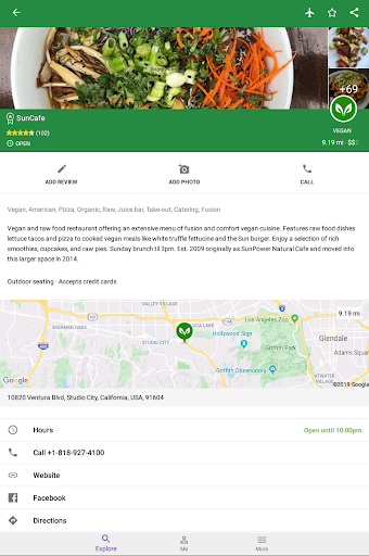 Find Vegan Restaurants & Vegetarian Food screenshot 22