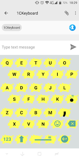 1C Big Keyboard screenshot 4