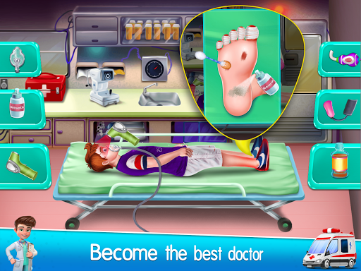 City Ambulance Doctor Hospital screenshot 2