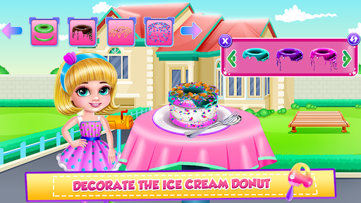 Ice Cream Donuts Cooking screenshot 4
