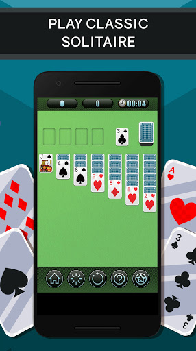 Solitaire free Card Game screenshot 1