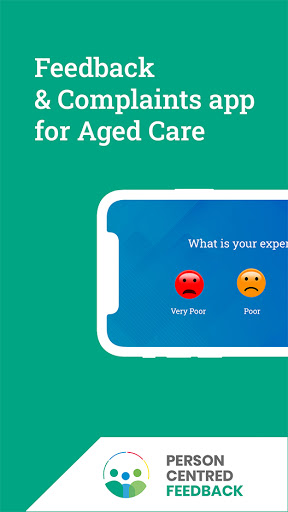 Person Centred Feedback App for Aged Care screenshot 1
