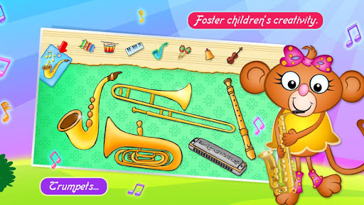 123 Kids Fun Music Games Free screenshot 3