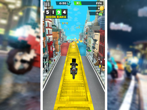 Blocky Superbikes Race Game - Motorcycle Challenge 屏幕截图 11