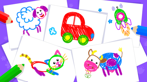 Toddler Drawing Academy🎓 Coloring Games for Kids screenshot 7