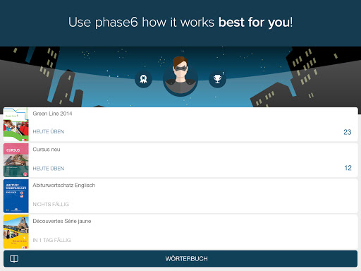 Memorize german vocabulary with phase6 screenshot 4