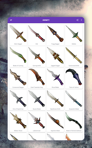 How to draw weapons. Daggers. Step by step lessons screenshot 10