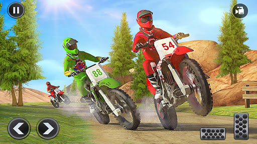 Motocross Dirt Bike Stunt Racing Offroad Bike Game screenshot 17