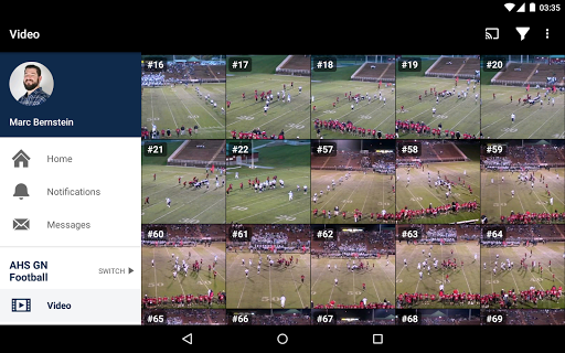 Hudl screenshot 16