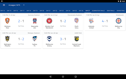 A-League Live screenshot 9