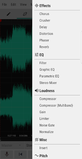 WaveEditor for Android™ Audio Recorder & Editor screenshot 5