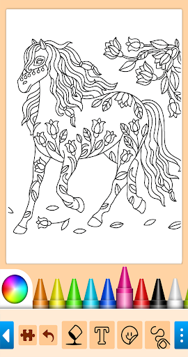 Coloring game for girls and women screenshot 9