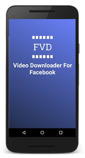 FVD Video Downloader For Facebook! FBDownloader screenshot 1