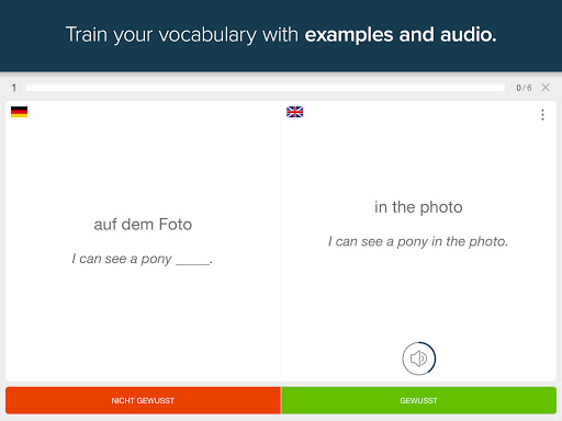 Memorize german vocabulary with phase6 screenshot 6