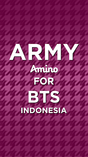 ARMY Amino for BTS Indonesia screenshot 1