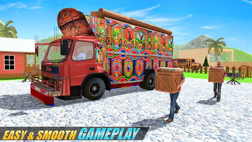 Indian Real Cargo Truck Driver -New Truck Games 21 screenshot 12