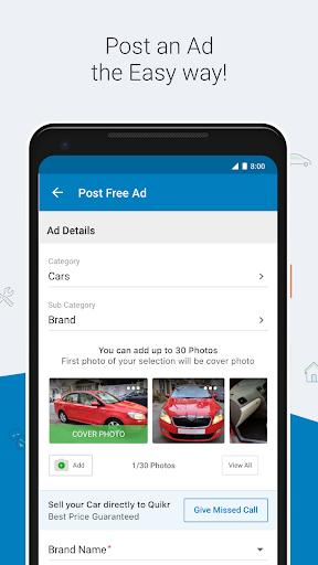 Quikr - Search Jobs, Mobiles, Cars, Home Services screenshot 7