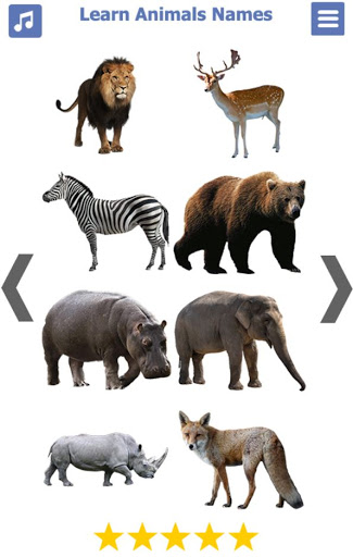 Learn Animals Name Animal Sounds Animals Pictures tangkapan layar 1