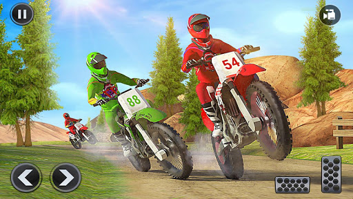 Motocross Dirt Bike Stunt Racing Offroad Bike Game screenshot 11