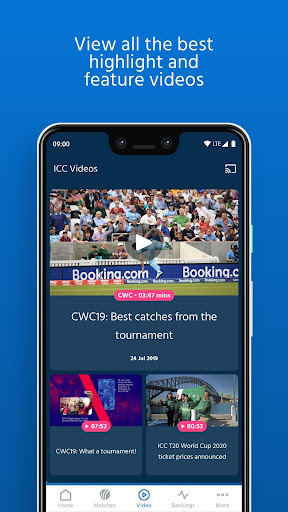 ICC - Live International Cricket Scores & News screenshot 4