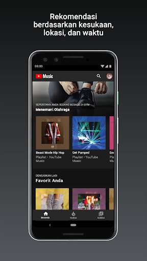 YouTube Music - Streaming Lagu & Video Musik tangkapan layar 2