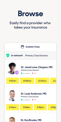 Zocdoc Find A Doctor & Book On Demand Appointments screenshot 3