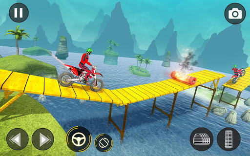 New Bike Stunts Game: Impossible Bike Stunts screenshot 6