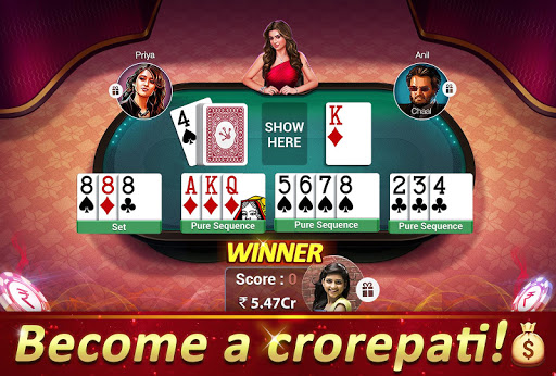 Rummy Gold (With Fast Rummy) -13 Card Indian Rummy screenshot 1