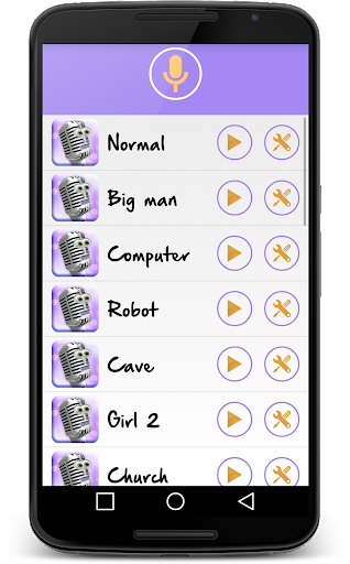 Change your voice! Voice changer for free screenshot 1