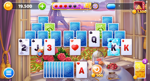 Solitaire Voyage Tripeaks Card screenshot 1