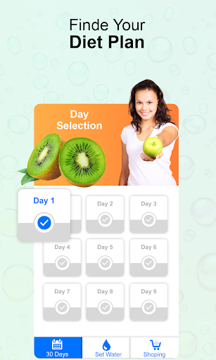 Diet Plan For Weight Loss Healthy Food For Fitness screenshot 1