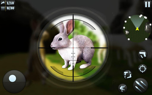 Rabbit Hunting Challenge - Sniper Shooting Games screenshot 1