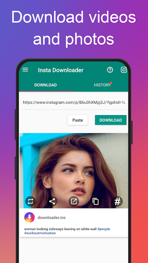 Photo & Video Downloader for Instagram - Instake screenshot 1