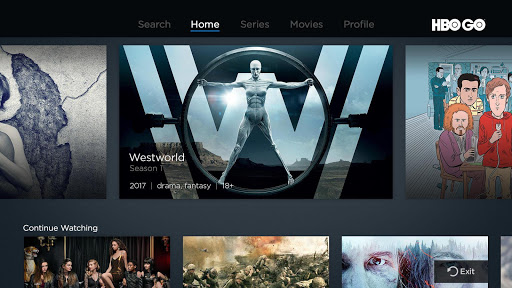 HBO GO - Android TV screenshot 1