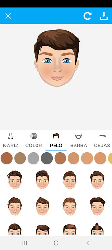 Avatarly: crear avatar emoji para Wastickerapps screenshot 11