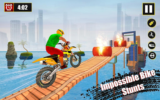 New Bike Stunts Game: Impossible Bike Stunts screenshot 20