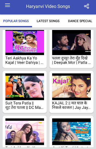 Haryanvi Songs : Haryanvi Video Songs screenshot 1