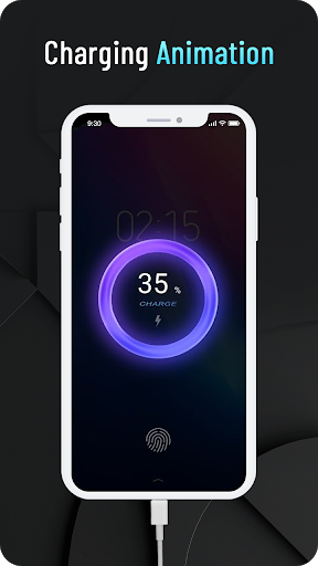 Battery Charging Animation Effect and Lock Screen screenshot 1