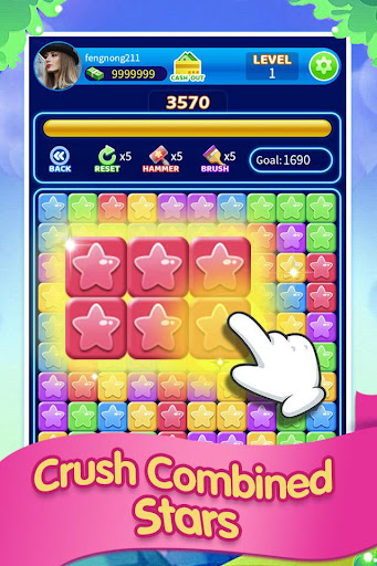 Magical Popstar -crush star game screenshot 1