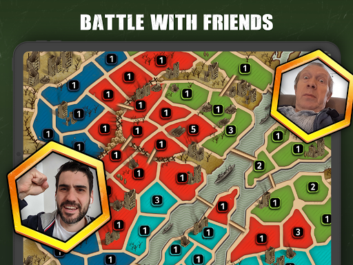 B&H: WW2 Strategy, Tactics and Conquest screenshot 2