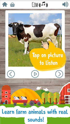 Kids Farm Game: Educational games for toddlers screenshot 2