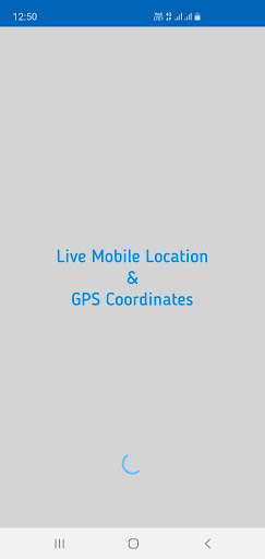 Live Mobile Location and GPS Coordinates screenshot 1