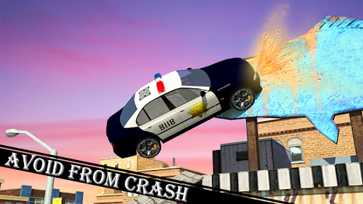 Police Car Stunt screenshot 2