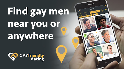 Gay guys chat & dating app screenshot 2